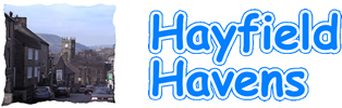 Hayfield Havens web logo